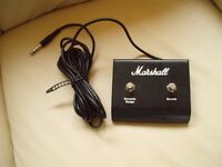 Marshall double footswitch. Works on all Marshall requiring double foot switch