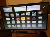 Panasonic 50 inches smart tv