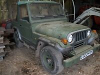 jeep willys rocsta mazda diesel, low mileage 4x4 off road only ideal farm use