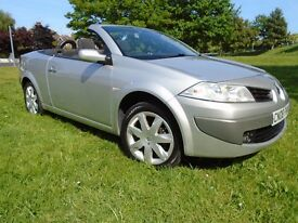 RENAULT MEGANE CONVERTIBLE 2008 - ONLY 63,000 MILES