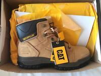 CATerpillar steel toecap boots
