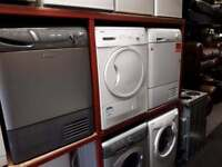 Selection of condenser dryers £125 each-fully reconditioned,6 months warranty,1 year pat test