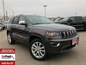 2017 Jeep Grand Cherokee LIMITED**REMOTE START**POWER SUNROOF**