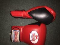 Lonsdale Professional Pro boxing gloves. ( 16 oz ) Directly purchased from Lonsdale.