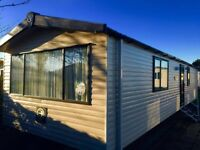 Cheap double glazed & central heated 3 bedroom caravan for sale guaranteed finance available