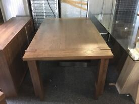 New/Ex Display Claremount Dark Oak Dining Table