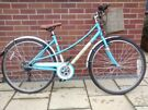 Baby blue Hybrid City Bike for ladies/women