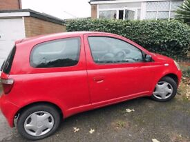 Toyota Yaris GLS, 1.0 VVTi 2001 (51 reg) in very good condition, long MOT