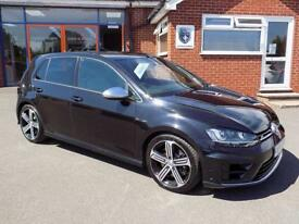 VOLKSWAGEN GOLF 2.0 R 5dr 4WD 300BHP * Great Value + Performance + FSH * (black) 2015