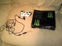 """For Sale – Xbox 360 250GB with games, Kinect, 19"""" monitor plus accessories £140"""