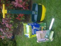 Fertilizer Spreader; Cat Repeller