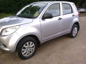 DIAHATSU TERIOS S 1.5 PETROL. 58 REG ONE OWNER. VERY LOW MILEAGE.