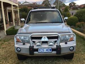 2003 Mitsubishi Pajero NP Exceed 7st 5dr Spts Auto 5sp 3.2DT Canberra City North Canberra Preview