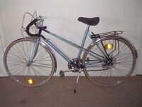 "Ladies/Womens Classic/Vintage/Retro 20"" Raleigh Wisp Racing/Road Bike (will deliver)"