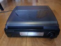 Steepletone 3 speed record player ST918 with built in speakers vinyl turntable
