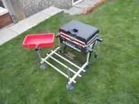 Avanti Gearbox / fishing seat box with octopus side tray