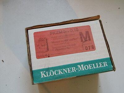 Klöckner Moeller Motorschutzschalter PKZM0-0,16
