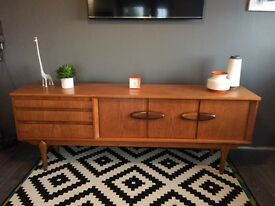 Mid Century retro Sideboard for Sale, 7ft Long selling as too big for my room, reluctant sale! Rare!