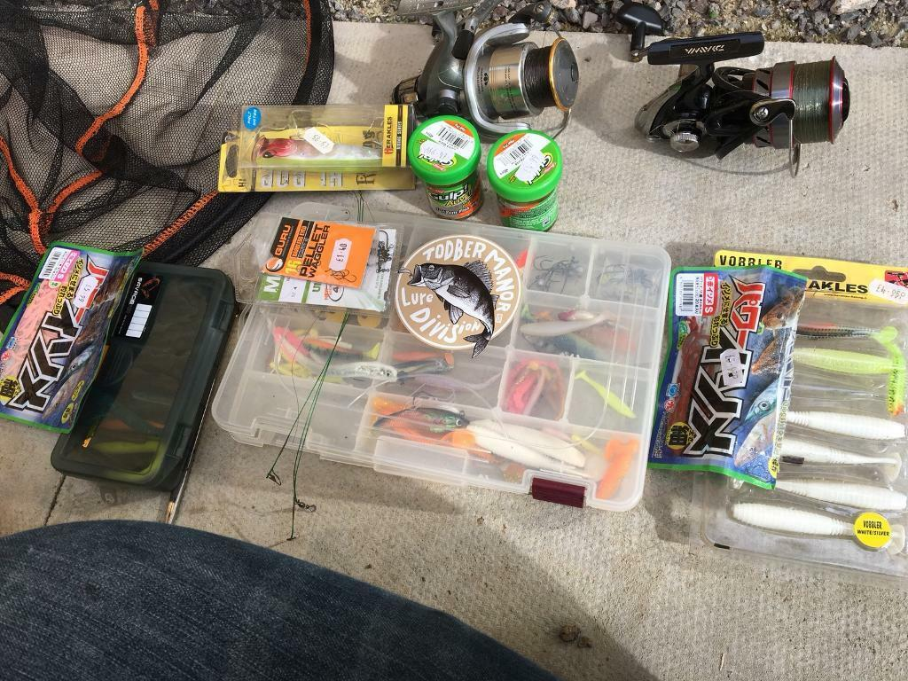 Full lure and sea fishing set up