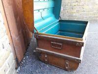 Old Metal Trunk