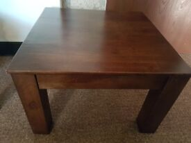 A stylish coffee table