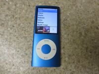 Apple iPod nano 4th Generation - 8 GB in blue