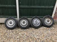 Ford Transit Connect Wheels and tyres