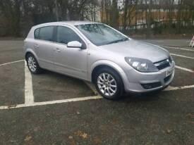 Vauxhall Astra 1.8 silver petrol
