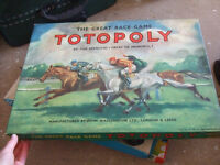 Vintage board game - Totopoly