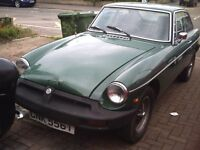 1978 MGB GT Classic car/Barn find/project