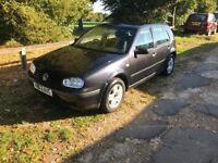 VW GOLF MATCH 1.9 TDI *LONG MOT* £875