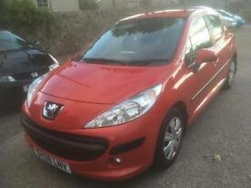 2008 58 PEUGEOT 207 S 1.4 hdi 5 dr DIESEL (£30 TAX) 41000 MILES