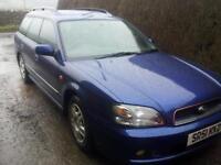 Subaru Legacy Estate 2.0 GL AWD Blue Tow Bar Electric Pack