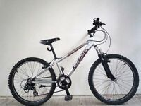 "(2074) 24"" LIGHTWEIGHT Aluminium CLAUD BUTLER BOYS MOUNTAIN BIKE BICYCLE Age: 8-12 Height: 130-150cm"
