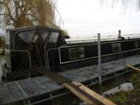 57ft x 12ft wide beam narrowboat