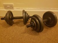 20Kg Cast Dumbbell Set