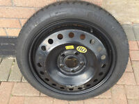 Continental Spacesaver Wheel ( Bought for Vauxhall Insignia) As New!!!!!