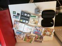 Nintendo DSI incl case, charger & 18 games bundle 023