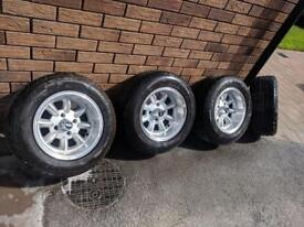 "Ford escort/Capri / cortina/ Sierra / wheels 13"" x 7"""