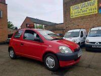 2003 Toyota Yaris 1.0 - Low Mileage - 3 Months Warranty