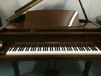 BRAND NEW - STEINHOVEN SG183 - WALNUT HIGH GLOSS GRAND PIANO