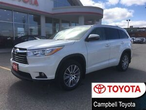 2015 Toyota Highlander XLE AWD--NAVIGATION--ROOF--1 OWNER--LOCAL