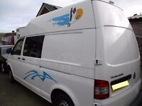 Volkswagon Transporter T32 Campervan 2011 with f/s/h and brand new 2 birth conversion must be viewed