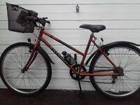 "LADIES ""RALEIGH"" CYCLE WITH BASKET/BICYCLE/BIKE"