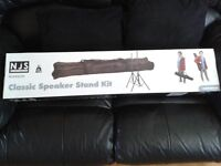 BRAND NEW NJS CLASSIC SPEAKER STAND KIT WITH BAG (NOT THE ECONOMY VERSION!!)