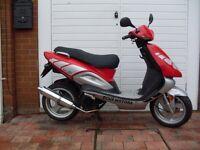 ** TGB 125 Sport Scooter**