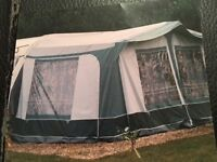 Caravan awning and cover