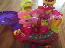 Vtech Pink Toot Toot Toy Car Garage