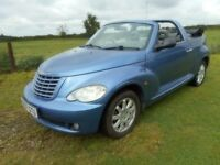 2007 07 Chysler PT Cruiser Convertible Automatic Power Hood priced to sell £1795