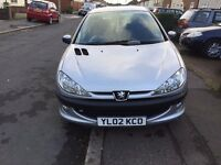 Peugeot 2061.6 XSi 3dr (electric sunroof), 3 DRS Manual Full Service History and Long MOT
